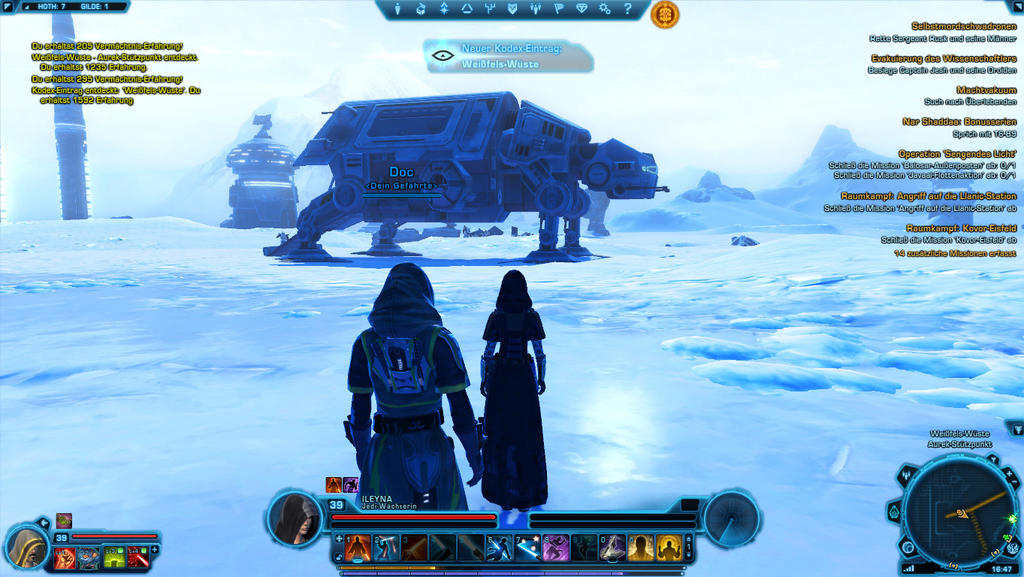 SWTOR Screenshot Hoth #1 by TheFlyingHeart