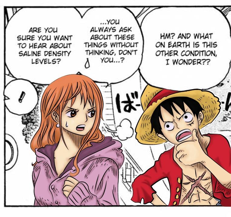 One Piece Hentai - Luffy se calienta Nami - Anime