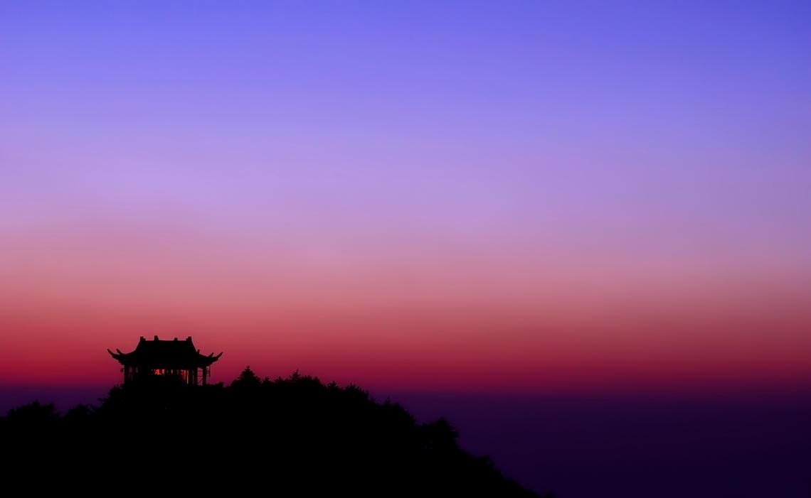 Western Sea Sunset II by Mikewen