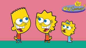 The Fairly OddSimpsons - Bart, Lisa and Maggie by Arthony70100
