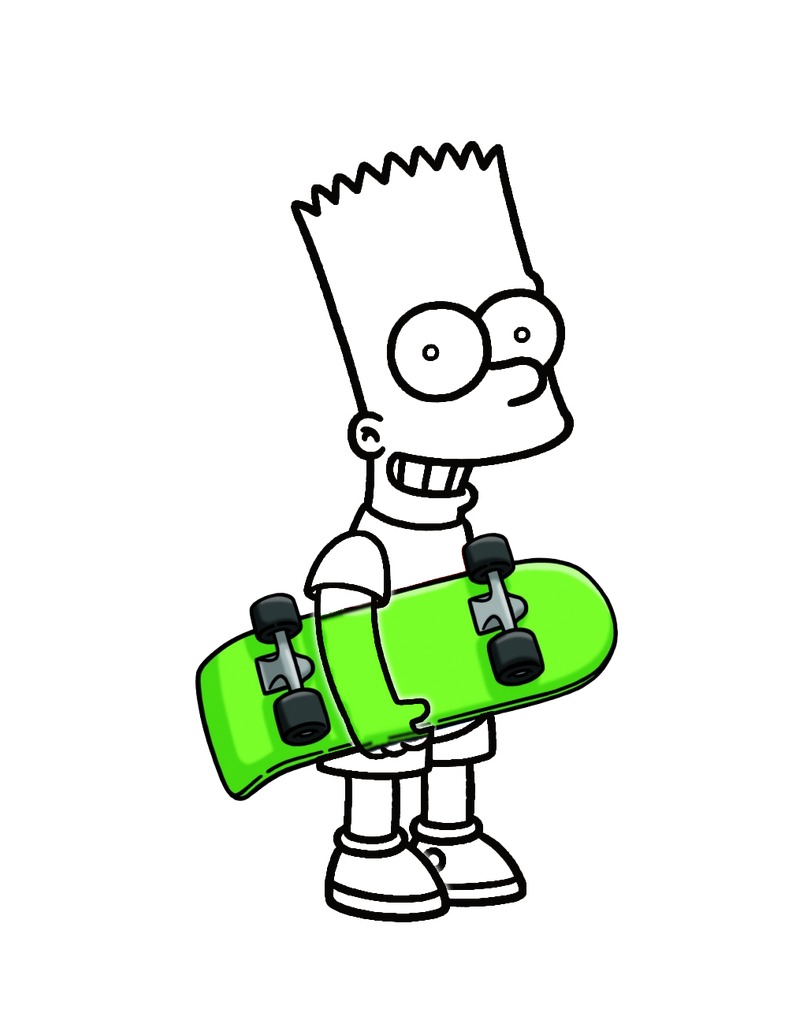 Invisible Bart Simpson in Timvisible style by Arthony70100