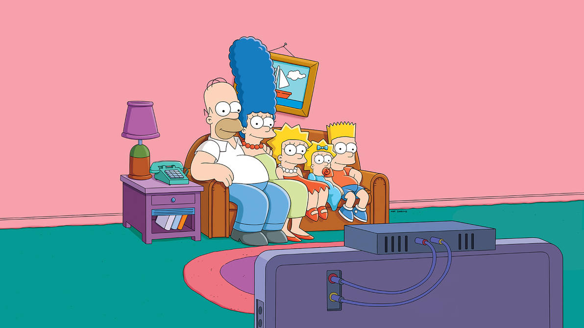 The Simpsons in natural skin colour by Arthony70100