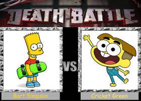 Death Battle: Bart Simpson vs. Cricket Green by Arthony70100