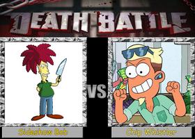 Death Battle: Sideshow Bob vs. Chip Whistler by Arthony70100