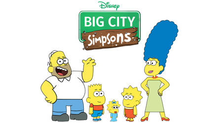 Big City Simpsons by Arthony70100