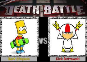 Death Battle: Bart Simpson vs. Kick Buttowski by Arthony70100