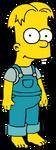 Bart Simpson dressed like Cricket Green by Arthony70100