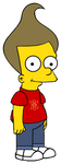 Jimmy Neutron in The Simpsons style by Arthony70100