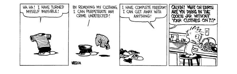 Invisible Calvin