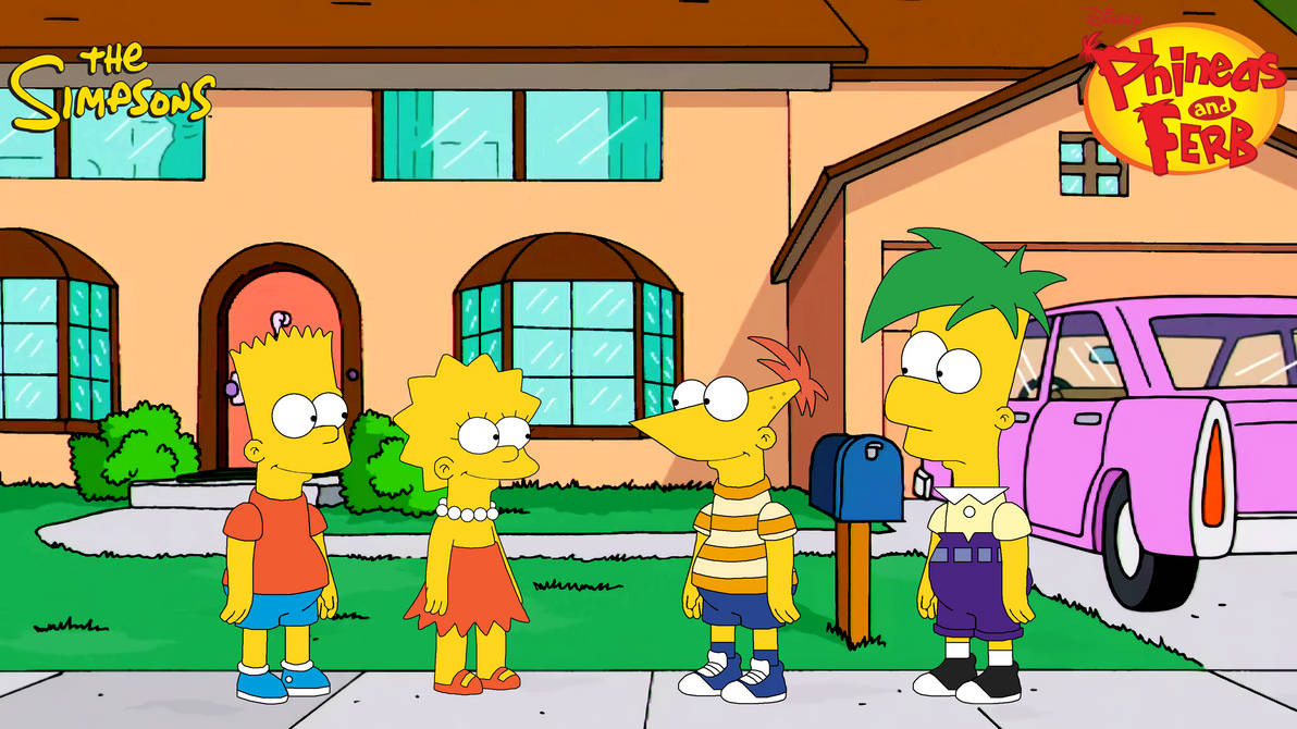 Bart and Lisa meets Phineas and Ferb (S. style)