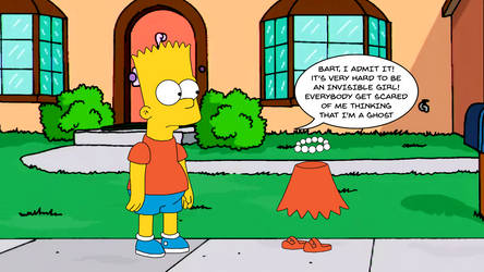 Invisible Lisa Simpson (In-Lis-ible)