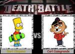 Death Battle: Bart Simpson vs. Carl Casagrande