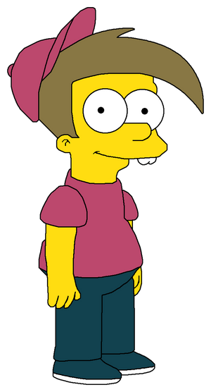 Timmy Turner in The Simpsons style