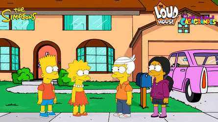 Bart and Lisa meets Lincoln and Ronnie (S. style)
