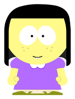 Tilly Green in South Park style by Arthony70100
