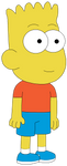Bart Simpson in Big City Greens style by Arthony70100
