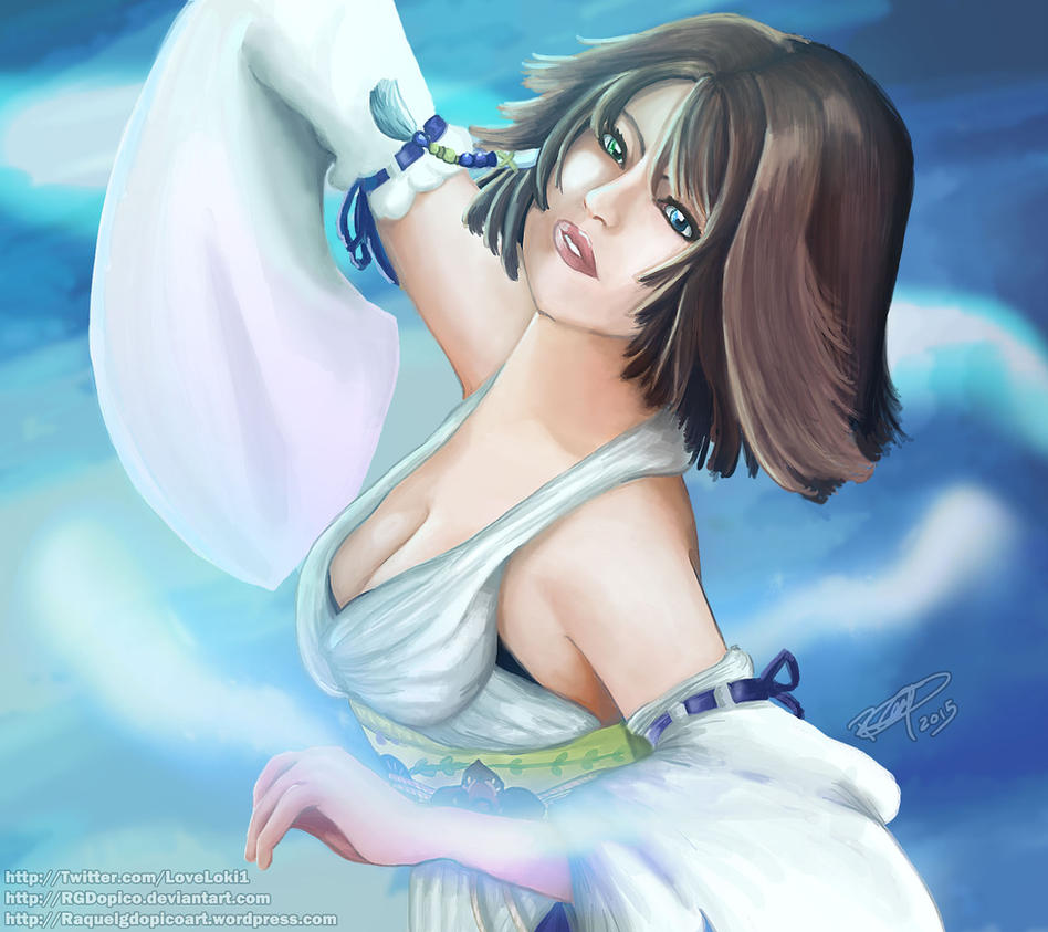 Yuna - Final Fantasy X by RGDopico