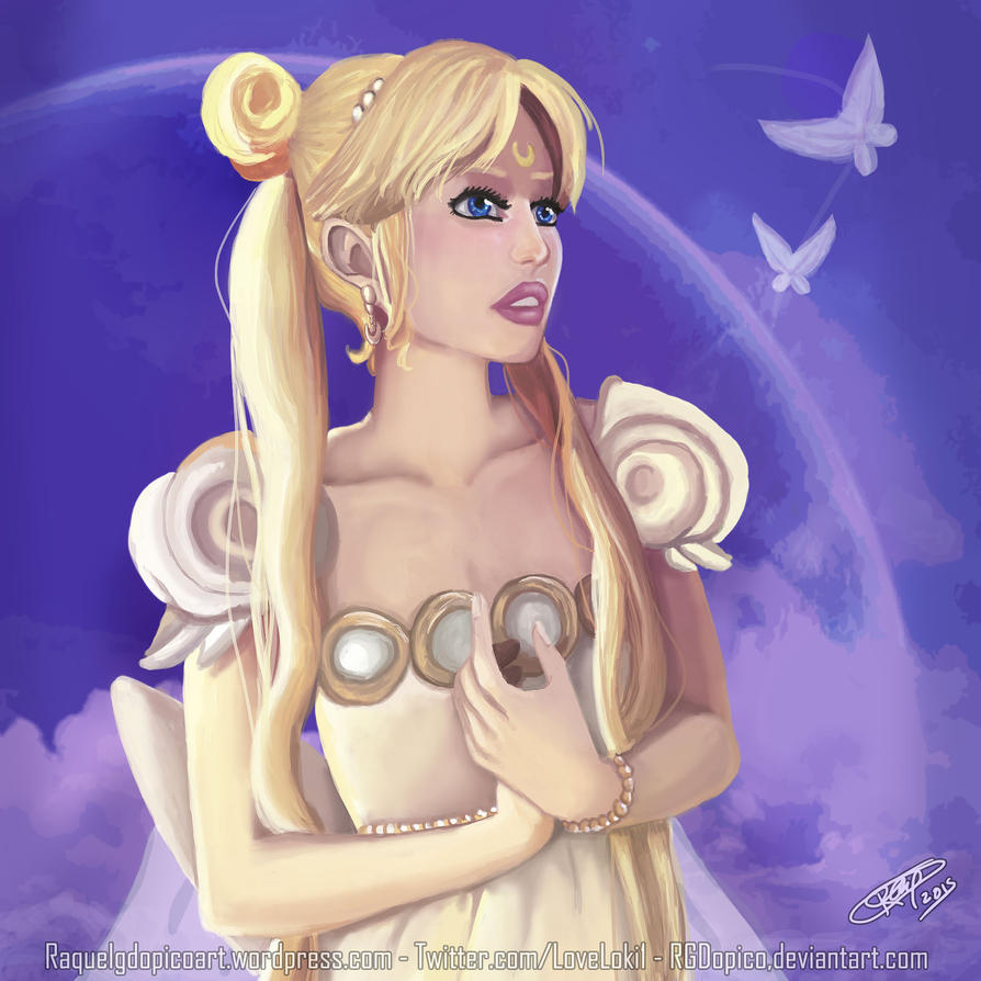 Princess Serenity - Sailor Moon by RGDopico