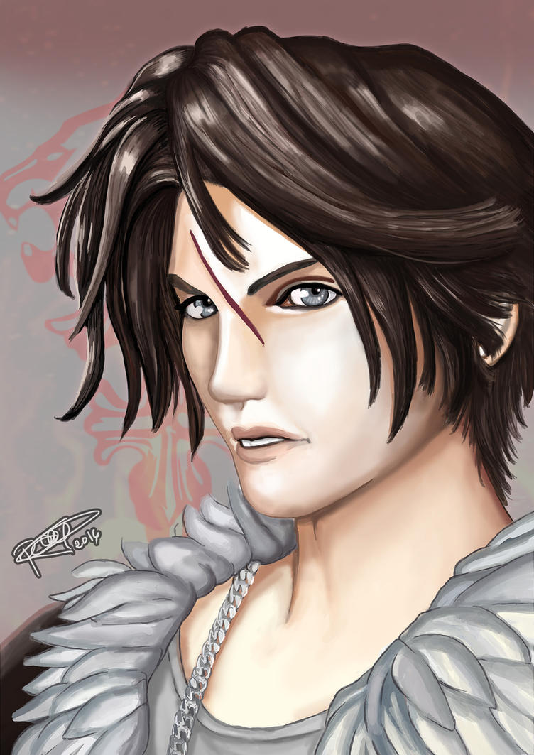 Squall Leonhart - Final Fantasy VIII by RGDopico