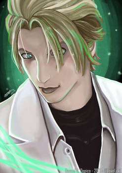 Rufus from Shinra - Final Fantasy VII