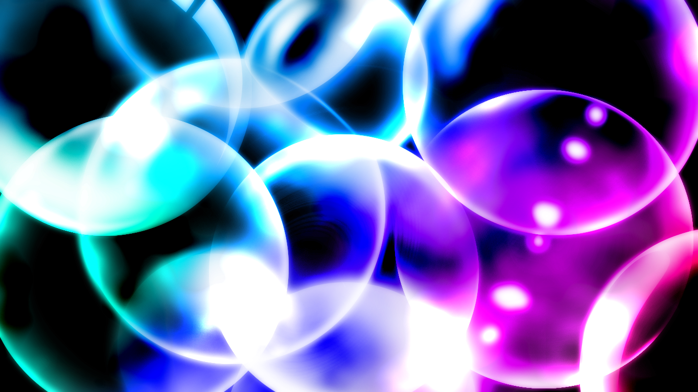 Bubble abstract wallpaper