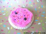 HotPink Sugar Cookie Amigurumi