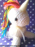Sparkle Rainbow Unicorn Ami