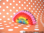 Gold Glitter Barf Rainbow Ami