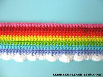 Rainbowlicous Sparkle Scarf
