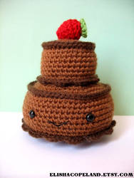 Double Tier Chocolate Cake Ami