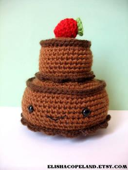 Double Tier Chocolate Cake Ami