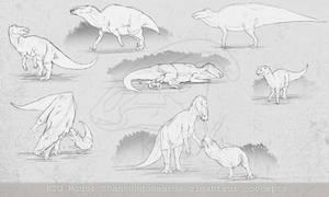 Shantungosaurus giganteus concepts | PoT KTO Mods