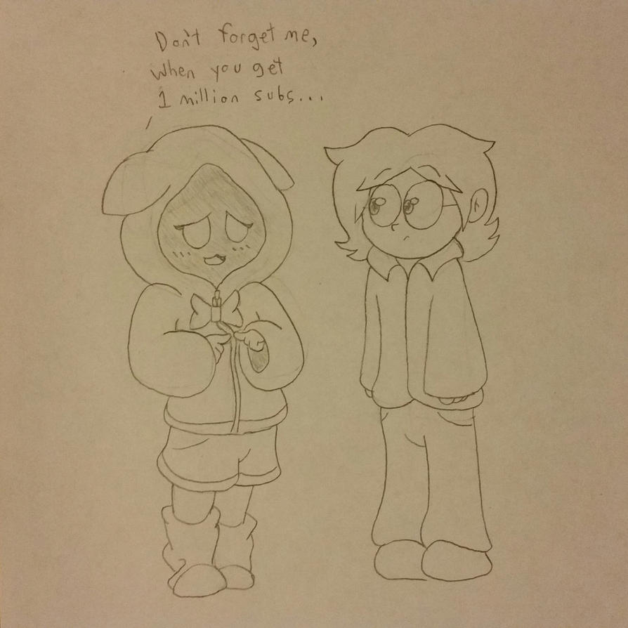 Comments Comic -Fangirls and Bacon Original Sketch by KryssenRobinson