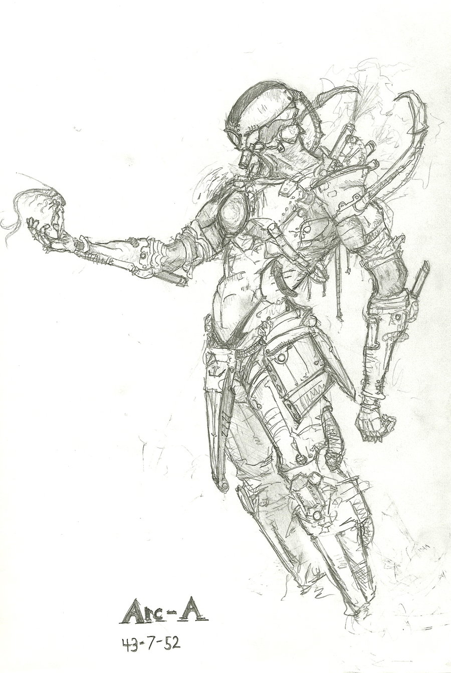 arc angel by robot drawing club on deviantart