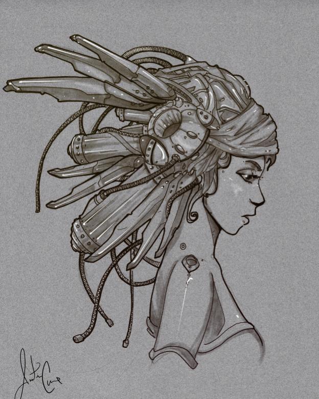 Steampunk Headdress By Robot Drawing Club On Deviantart