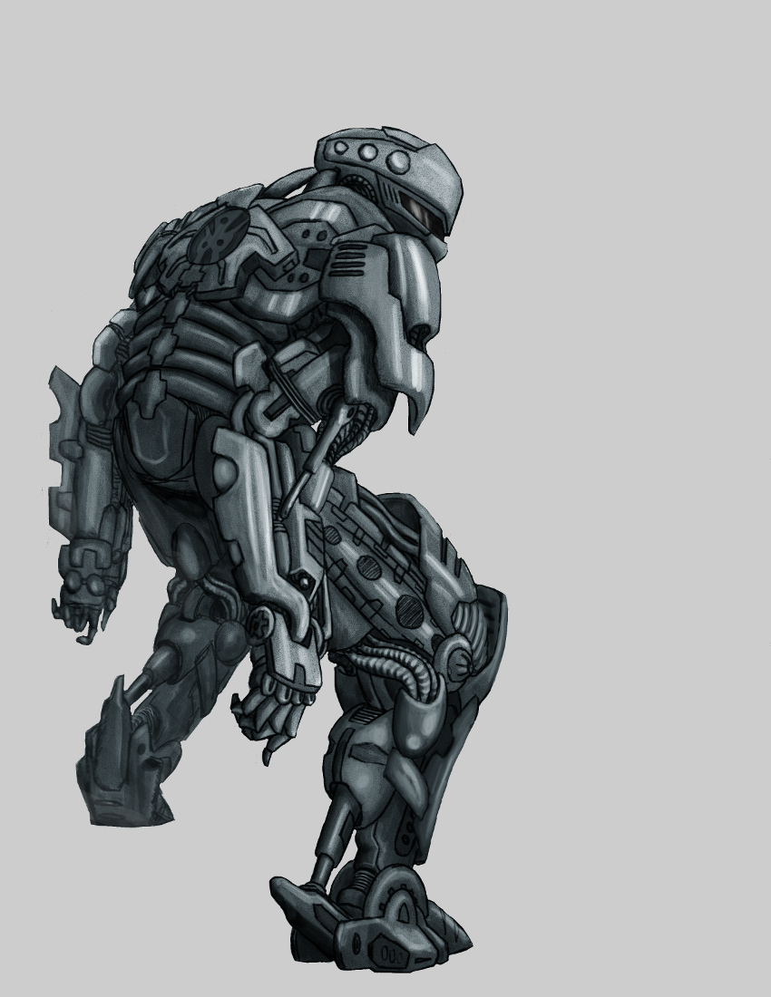 Cool Robot Designs To Draw