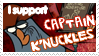 k'nuckles stamp by yeslek