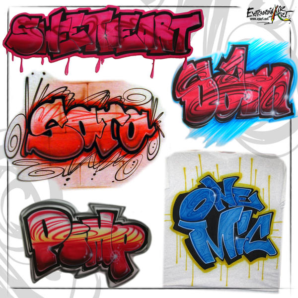 Block Letters And Graffiti 3 By Air123