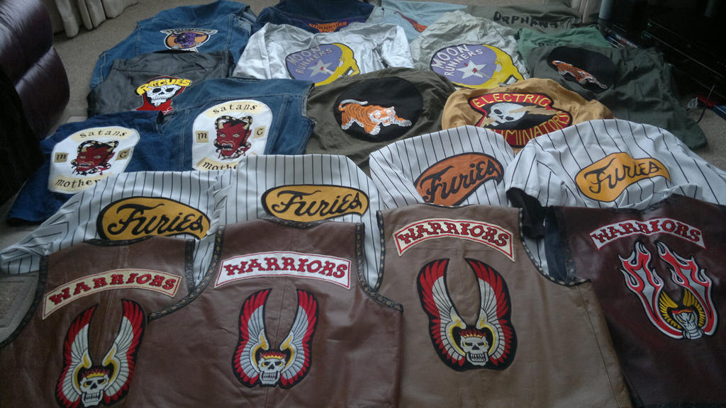 The warriors movie and game replica costumes