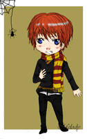 Ron Weasley by superteacups