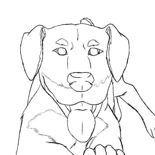 Rottweiler Coloring Pages Coloring Pages Rottweiler Coloring Pages