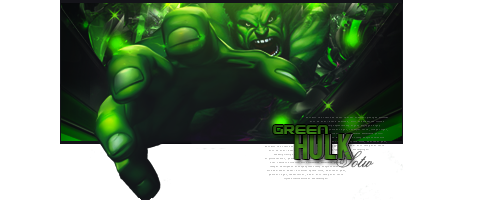 Green Hulk by BloodyAx