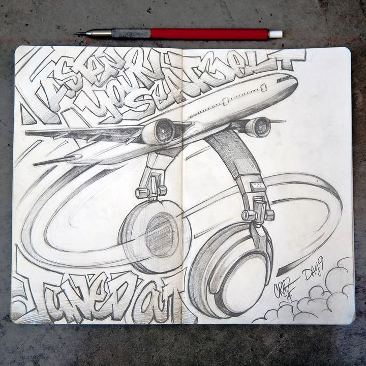 sketch book by philcruz