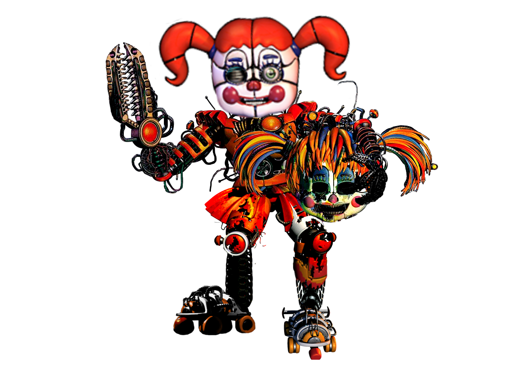 Circus Baby Costum Scrap Baby by Spring-o-bonnie on DeviantArt
