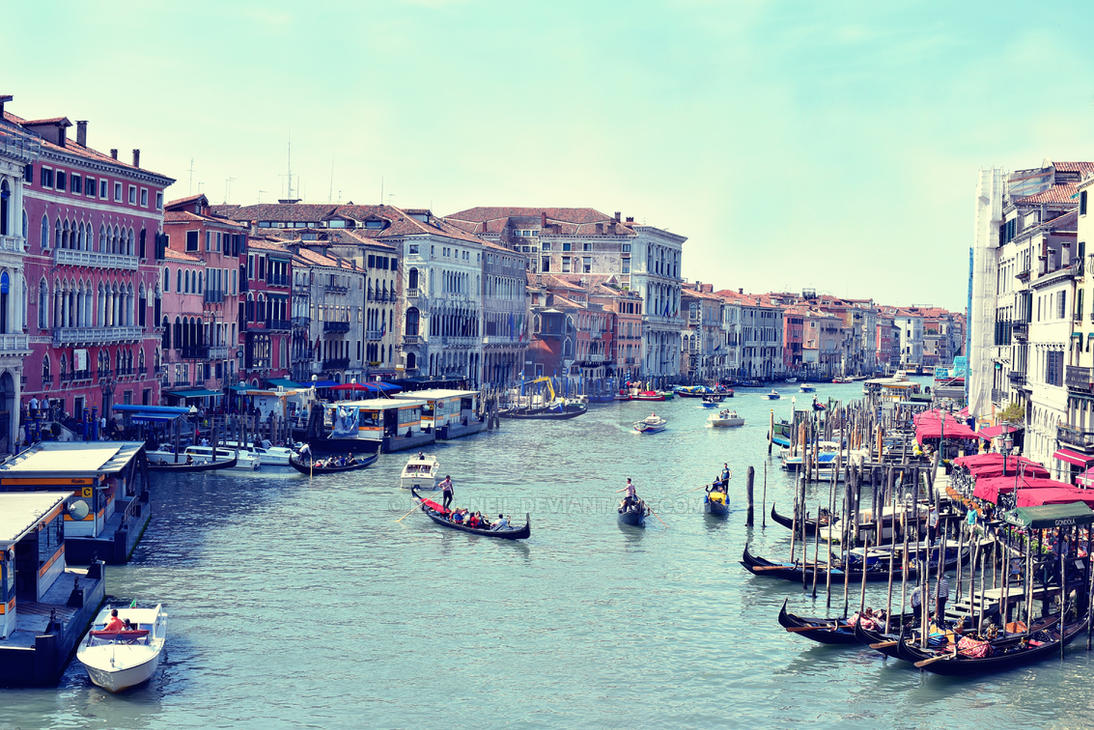 From Rialto Bridge, Venice by Real-Neil