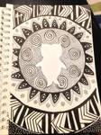 Owl Mandela ~ First attempt
