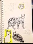 Sketch Dump / Anatomy Practice 2