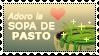 Adoro la Sopa de Pasto Stamp by Aida-plz