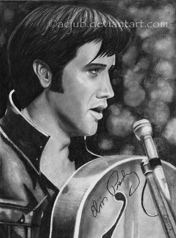 Elvis Presley by acjub