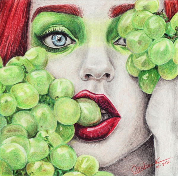 Grapes Draw-Along by acjub